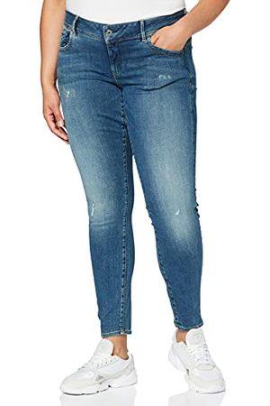 G-Star Obcisłe jeansy damskie Lynn ze średnim stanem
