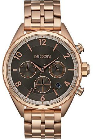 Nixon Kobieta Zegarki - Damski chronograf kwarcowy zegarek z bransoletką ze stali szlachetnej A993-2046-00