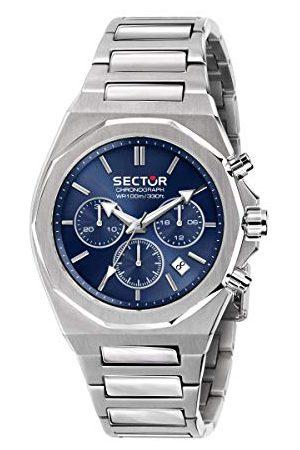 Sector No Limits Męski analogowy zegarek kwarcowy z bransoletką ze stali nierdzewnej R3273628003