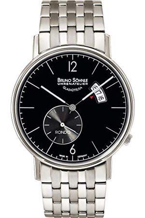 Soehnle Mężczyzna Zegarki - Bruno Söhnle męski analogowy zegarek kwarcowy z bransoletką ze stali szlachetnej 17-13053-762