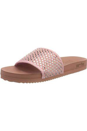 flip*flop Damskie sandały do badania basenu, - Dirty Rose Silver - 39 eu