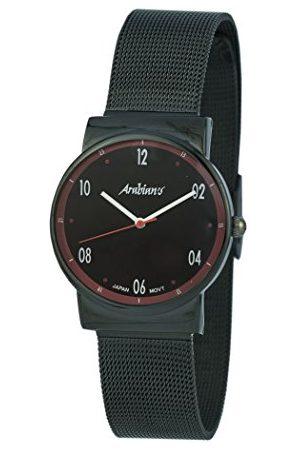 ARABIANS Męski analogowy zegarek kwarcowy z bransoletką ze stali szlachetnej HNA2235NR
