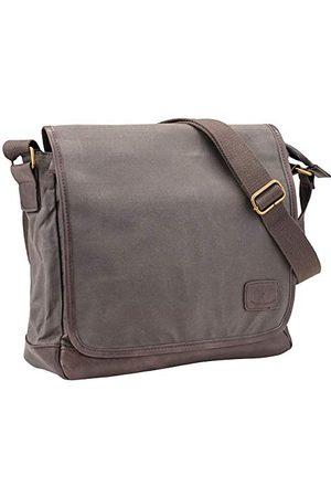 Pride and Soul Unisex torba na ramię Reckless, torba na laptopa torba na ramię szara (szaro-brązowa)