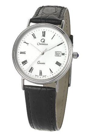 ORPHELIA Męski analogowy zegarek kwarcowy ze skórzanym paskiem MON-7082/1