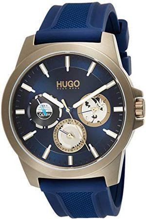 HUGO BOSS Męski zegarek kwarcowy z wieloma tarczami pasek