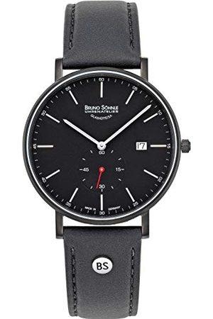 Soehnle Bruno Söhnle męski analogowy zegarek kwarcowy ze skórzanym paskiem 17-73187-741