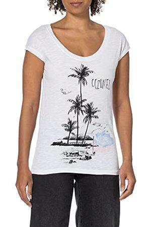 Timezone Damska koszulka z nadrukiem plażowym