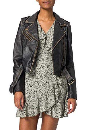 GOOSECRAFT Damska kurtka Gc Marly Biker Leather