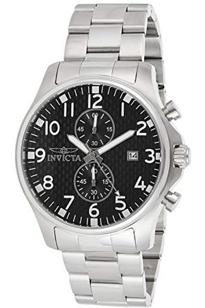 Invicta 0379 Specialty męski zegarek stal szlachetna kwarc czarny cyferblat