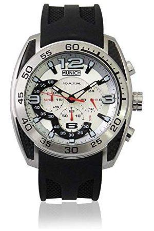 Munich Unisex dla dorosłych analogowy zegarek kwarcowy z gumową bransoletką MU+133.1B