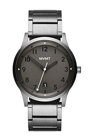 MVMT Męski analogowy zegarek kwarcowy z bransoletką ze stali szlachetnej 2800019-D