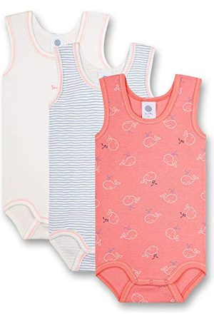 Sanetta Body dla dziewczynek w zestawie czerwone małe dzieci zestaw bielizny