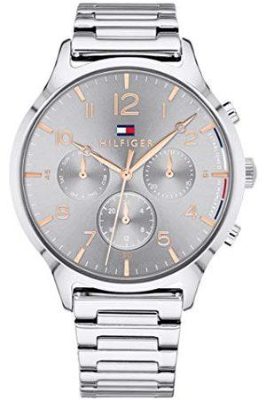 Tommy Hilfiger Unisex Multi tarcza kwarcowy zegarek z bransoletką ze stali szlachetnej 1781871