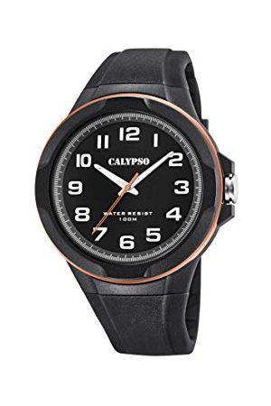 Calypso Męski analogowy klasyczny zegarek kwarcowy z plastikowym paskiem K5781/6