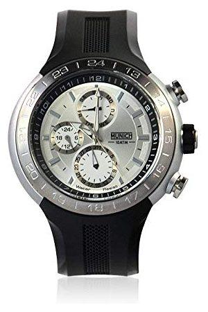Munich Unisex dla dorosłych analogowy zegarek kwarcowy z gumową bransoletką MU+114.1E