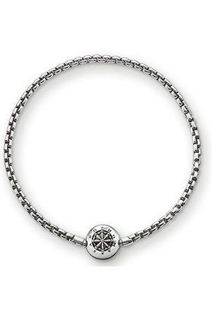 Thomas Sabo KA002-001-12 damska bransoletka Karma Beads srebro wysokiej próby 925, poczerniane e srebro, colore: , cod. KA0002-001-12-L18