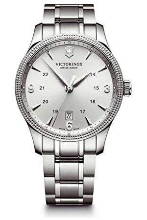 Victorinox Męski analogowy zegarek kwarcowy z bransoletką ze stali szlachetnej 241712.1