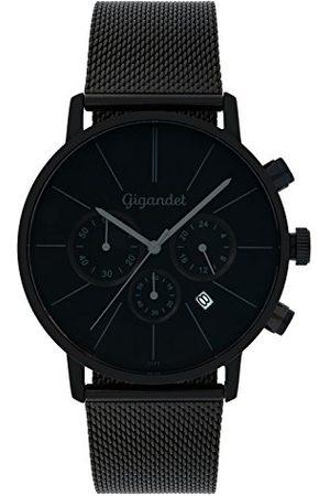 Gigandet Mężczyzna Zegarki - Zegarek męski chronograf kwarcowy analogowy z bransoletką ze stali szlachetnej G32-008