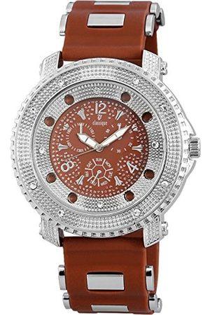 Classique Męski analogowy zegarek kwarcowy z silikonowym paskiem RP3572750002