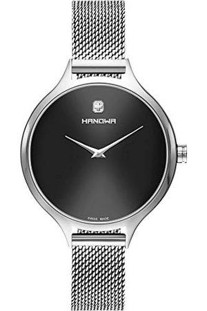 Swiss Military Hanowa Uniseks dla dorosłych analogowy zegarek kwarcowy z bransoletką ze stali szlachetnej 16-9079.04.007