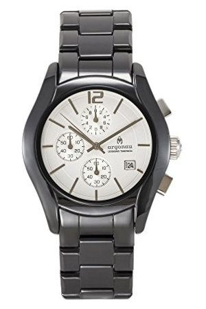 ARGONAU Uniseks dla dorosłych analogowy zegarek kwarcowy z ceramiczną bransoletką AU1500