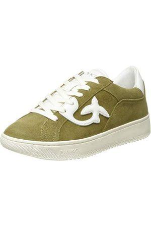 Pinko Damskie buty typu sneaker Liquirizia 1 Slip On Sneaker, wielokolorowa - Wielokolorowy Brown Militare Bianco Tz2-39 eu