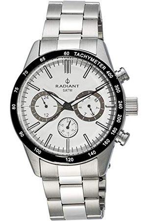 Radiant Męski analogowy zegarek kwarcowy z bransoletką ze stali szlachetnej RA411201