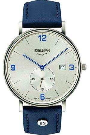 Soehnle Bruno Söhnle męski analogowy zegarek kwarcowy ze skórzanym paskiem 17-13187-263