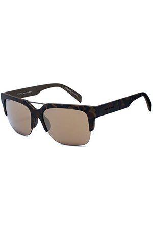 Italia Independent Okulary przeciwsłoneczne 0918-145-53 (53 mm) brązowe/czarne