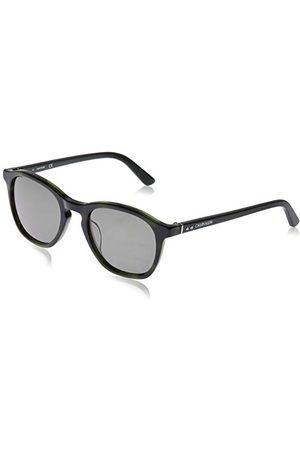Calvin Klein EYEWEAR Mens CK18505S'' okulary przeciwsłoneczne, zielone/niebieskie, 5221
