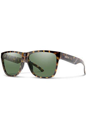 Smith Okulary przeciwsłoneczne - Unisex Lowdown Xl 2 okulary przeciwsłoneczne, - Vintage Tortuga / Polarizado Gris Verde - 60