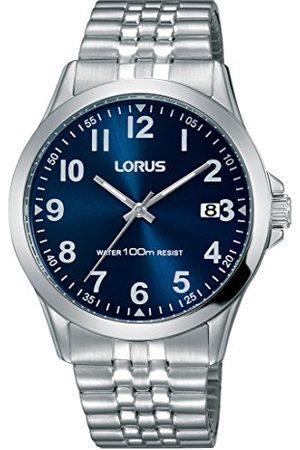 Lorus Mężczyzna Zegarki - Klasyczny męski zegarek ze stali nierdzewnej z metalowym paskiem RS973CX9
