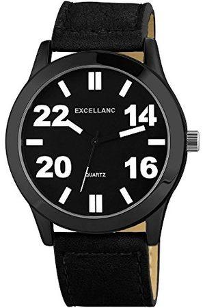 Excellanc Męski zegarek na rękę XL analogowy kwarcowy różne materiały 295071000141