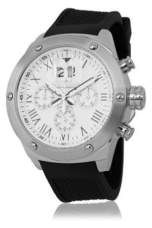 Herzog & Söhne Męski zegarek na rękę XL analogowy kwarcowy silikon HS313-182