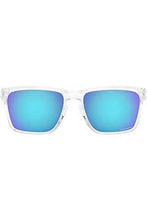 Oakley Unisex Adult OO9448-0457 Sunglasses, Polished CLEAP/PRIZM Sapphire, 57/17/142
