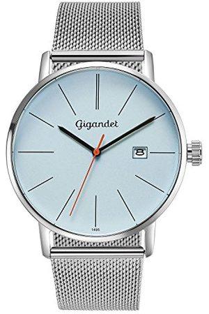 Gigandet Męski analogowy zegarek kwarcowy z bransoletką ze stali szlachetnej G42-013