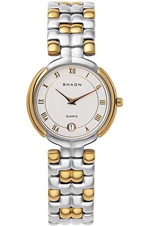 Shaon Męski analogowy zegarek kwarcowy z bransoletką Alloy 36-8001-18