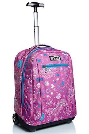 Appack Big Trolley , Webkins, różowy, 2 w 1 Spallacci per uso Zaino, Scuola & Viaggio