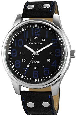 Excellanc Męski zegarek na rękę XL analogowy kwarcowy różne materiały 295021000142