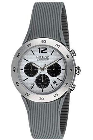 Hip Męski chronograf kwarcowy zegarek z silikonowym paskiem HWU0707