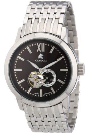 Carucci Watches męski zegarek na rękę XL analogowy automatyczny stal szlachetna CA2193BR