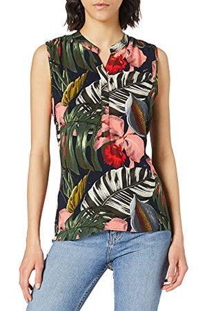 Mexx Damska bluza z nadrukiem bez rękawów