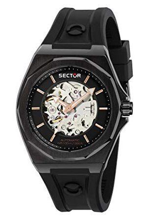 Sector No Limits Męski analogowy zegarek automatyczny z silikonową bransoletką R3221528001