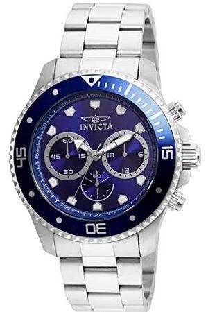Invicta 21788 Pro Diver męski zegarek na rękę ze stali nierdzewnej kwarc niebieska tarcza