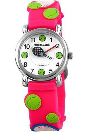Excellanc Unisex Zegarek na rękę analogowy kwarcowy kauczuk 407025000061