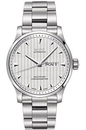 MIDO Męski analogowy automatyczny zegarek z bransoletką ze stali szlachetnej M005431103100
