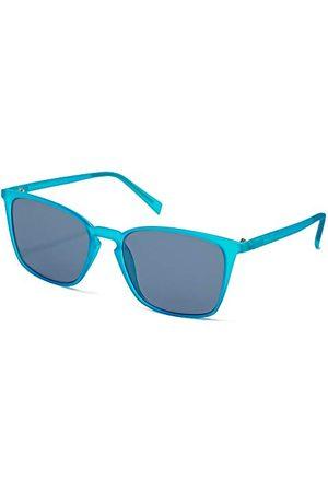 Italia Independent Unisex 0037-027-000 okulary przeciwsłoneczne, niebieskie (Azul), 52
