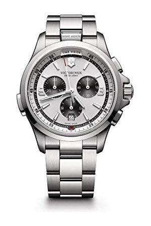 Victorinox Victorinox męski zegarek na rękę z noktowizorem, analogowy, szwajcarski mechanizm kwarcowy Taśma /