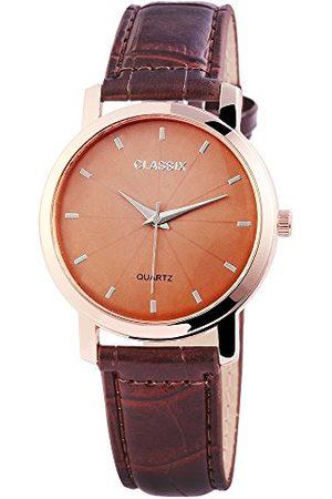 CLASSIX Męski analogowy zegarek kwarcowy ze skórzanym paskiem RP4783750014