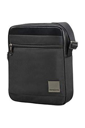 Samsonite Mężczyzna Torebki na ramię - Hip-Square - Tablet Cross-over M 7.9 torba na ramię, 25 cm, 3,5 L, czarna